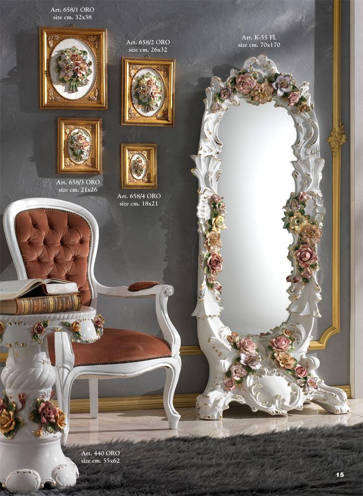Ceramics Ceramiche Sonda Capodimonte Vases Ceramic Mirrors And Tables Capodimonte Jars