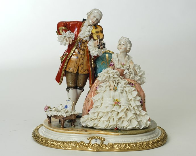 Ceramics Venere Porcellane D Arte Capodimonte Porcelain