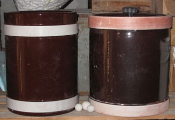Ceramic Ball Mill for glazes