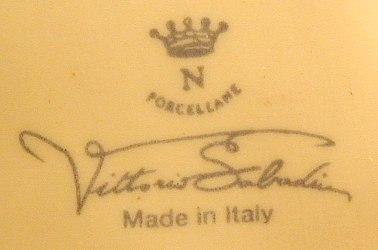 Ceramics marchio di fabbrica delle porcellane s v for Marchi porcellane austriache