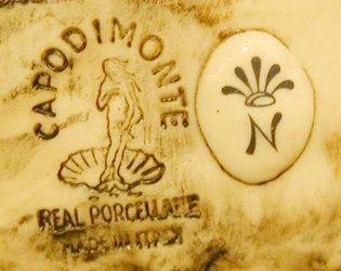 Ceramics marchio di fabbrica della venere porcellane d 39 arte for Marchi porcellane austriache