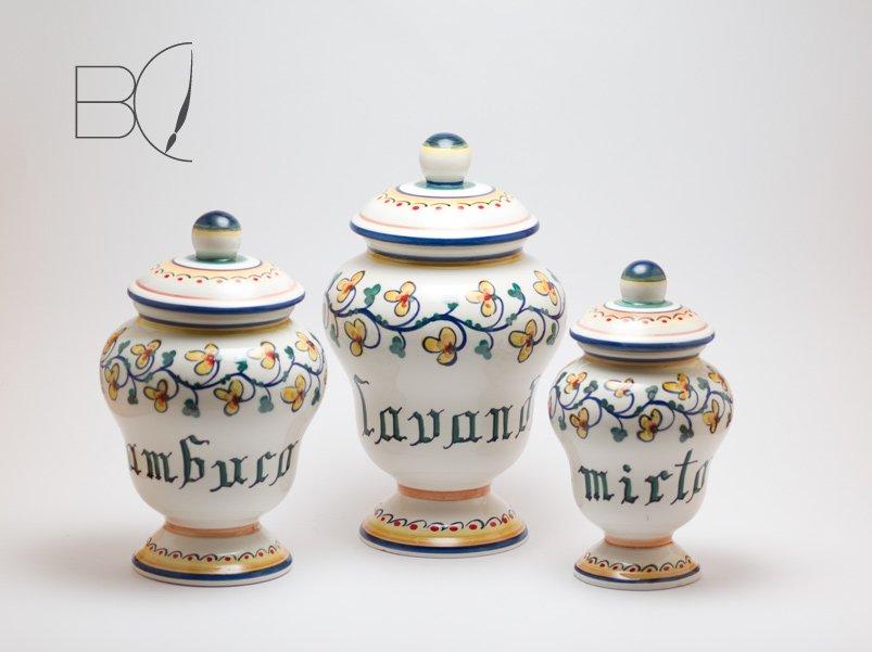 Ceramics bottega del ceramista portacandele ceramica - Oggetti ceramica design ...