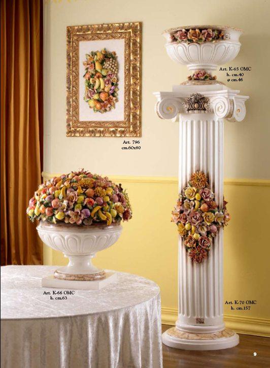 Ceramics ceramiche sonda vasi capodimonte specchiere e for Vasi capodimonte
