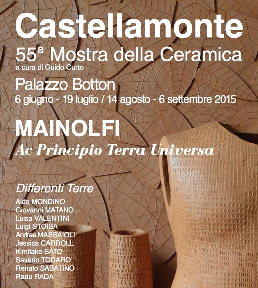 Mostra Della Ceramica Di Castellamonte.Ceramics Mostra Della Ceramica Ed Nr 55 A Castellamonte Dal 6 Giugno Al 6 Settembre 2015