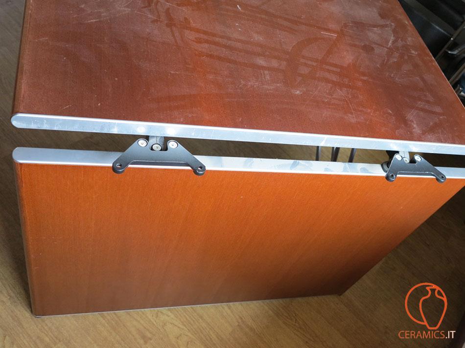 Ceramics grande tavolo da ufficio in legno usato - Tavolo grande legno ...